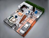 Santa Ana II - Interior design
