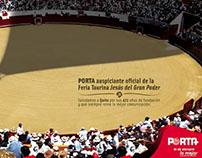 Auspicio Plaza de Toros/Porta