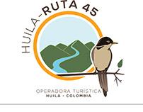 Logotipo - Ruta 45 Huila, Col.