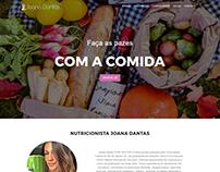 Web Design - Joana Dantas