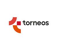 TORNEOS - Diseño de Identidad - Papelería - Vía Pública
