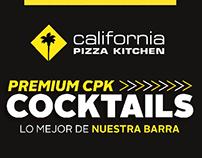 CPK Bebidas Menú