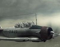 Las palomas y las bombas - Breakdown Combate aéreo