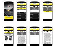 UX Mockup Android App