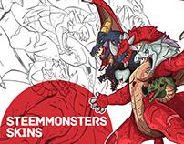 Steem Monsters Skins
