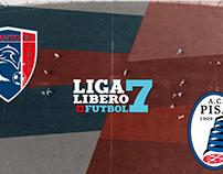 Liga Líbero Fútbol - Taranto (4) vs Pisa (1)