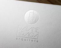 Logotipo arquiteta   Daiane Braga