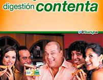 """Campaña """"Digestión contenta"""""""