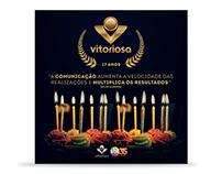 Comunicação TV Vitoriosa 17 Anos - SBT