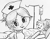 Algunos dibujos / Some drawings