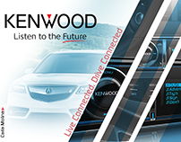 Keenwood car radio Live Connected. Drive Connected