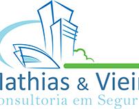 identidade visual Mathias & Vieira