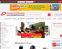 Novo layout website Mercado Mineiro