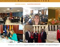 Diseño de Página Web de Lombo & Liévano Abogados.