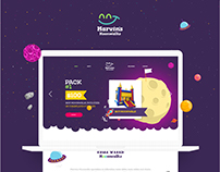 Landing Page - Marvins