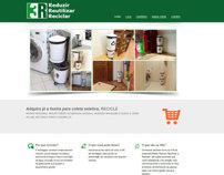 Site - 3R Lixeiras - destinado a divulgação e venda
