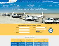 Aerodiana - Rediseño de sitio web
