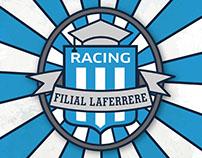 Racing Filial Laferrere- diseño de escudo