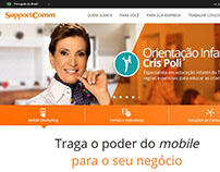 Site Institucional - SupportComm