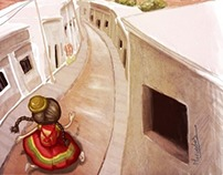 1º premio del Concurso de Ilustración del ENE