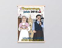 Cartel de fiestas