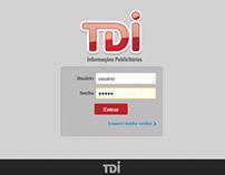 HTML5 App for TDI Informações Publicitárias