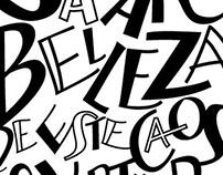Ilustraciones con letras - Proyecto Personal