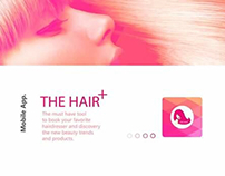 UI Hair Salon App