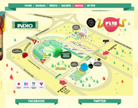 Web INDIO Vive Latino 2012