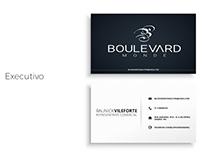 Criação de peças gráficas - Boulevard  Monde