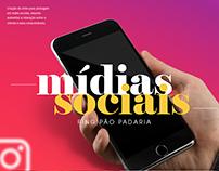 Mídias Sociais - Ping Pão Padaria