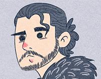 Jon Snow - Illustration for Children