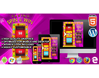 HTML5 Game: Casino Spin & Win