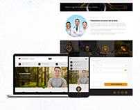 Diseño página web Apiterapia y Salud