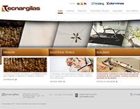 tecnargilas.com.br