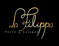 Diseño de marca. La Filippa Pasta y Lasagna.
