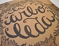 La Arboleda - Illustration and lettering