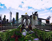 Photoshop - Cidade Pós Apocalíptica