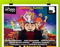 Mi Supervilano - Theater Poster ( Venezuela)