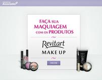 WEB: Hotsite - Revitart MakeUp Farmácias Associadas