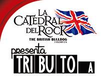 Diseños para British Bulldog, La Catedral Del Rock.