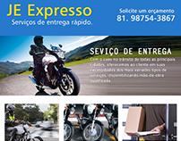 Criação de site e Folden JE Expresso