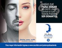 Logo Yo Dono Yo Transciendo Sociedad Oftamologia