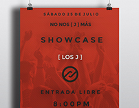 Flyer For ShowCase [ LOS J ]