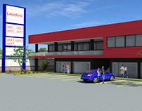 Proyecto Lavadero + Locales Comerciales en etapas