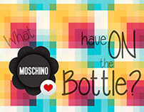 What Moschino have on the bottle ?