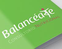 Logotipo Consultorio Nutricional Balancéate
