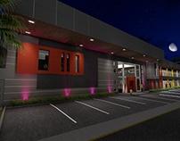 CENTRO COMERCIAL LAGO SUR _ ILUSTRACION 3D