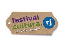 Festival Cultura.RJ - Identidade Visual e Design