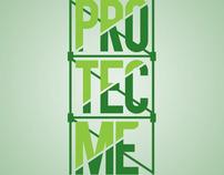 Protecme, graphic identity